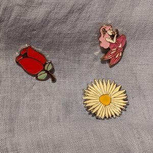 Accessories - Three cute pins